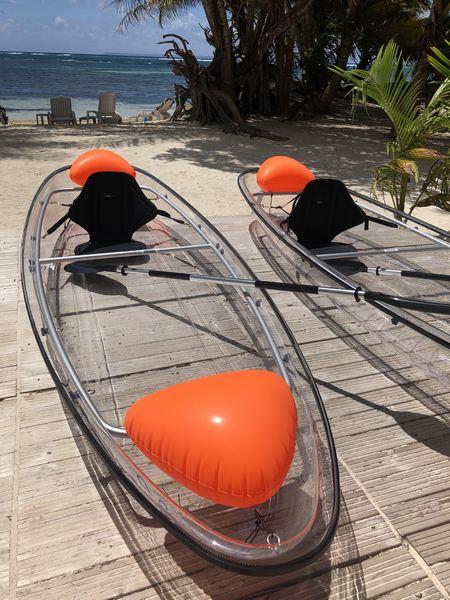 Location Kayak transparent