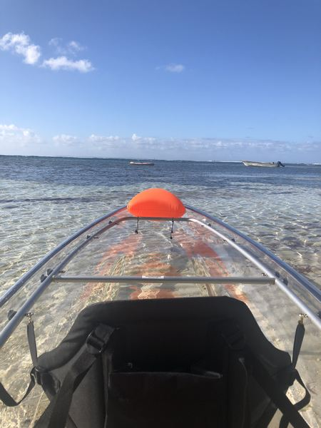 Location Kayak transparent