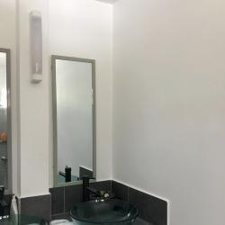Bleu émeraude suite wave la salle de bain